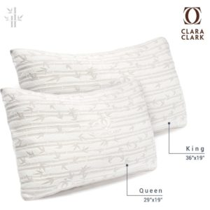 clara clark launched their version of designed memory foam pillow which is of premium quality and extreme comfort want to know the best part